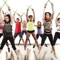 pound group class at bayshore athletic club